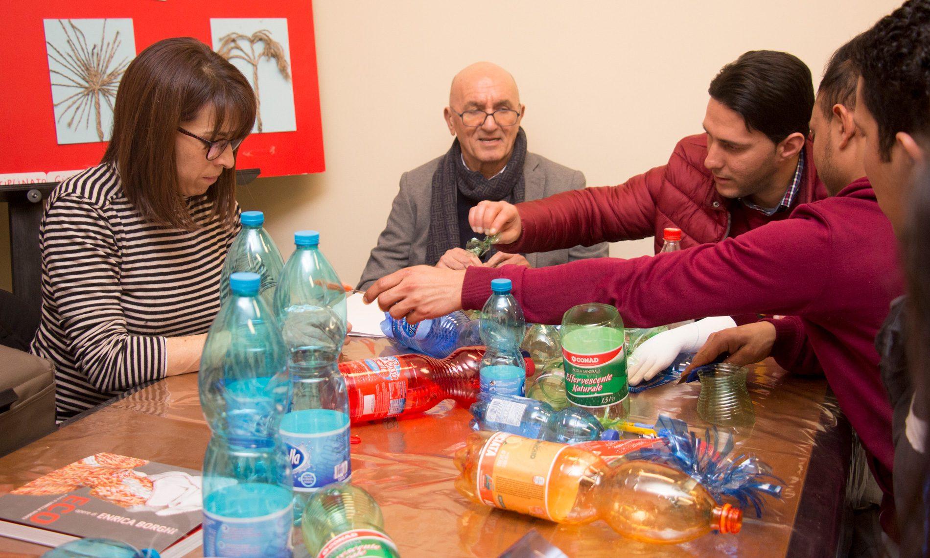 Laboratorio con Enrica Borghi presso Fondazione Sicilia, Palermo
