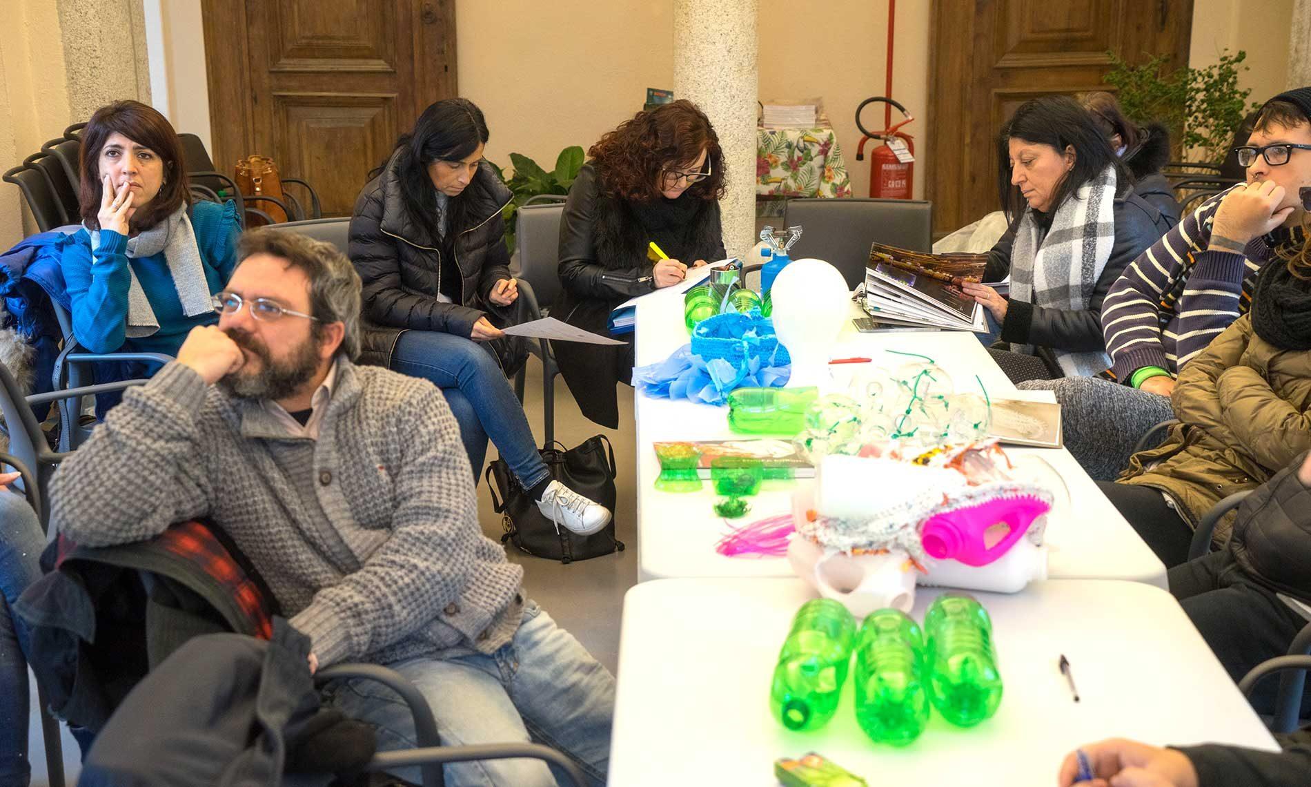 Workshop con l'artista Enrica Borghi, operatori socio sanitari e recoverist - Villa Nigra, Miasino