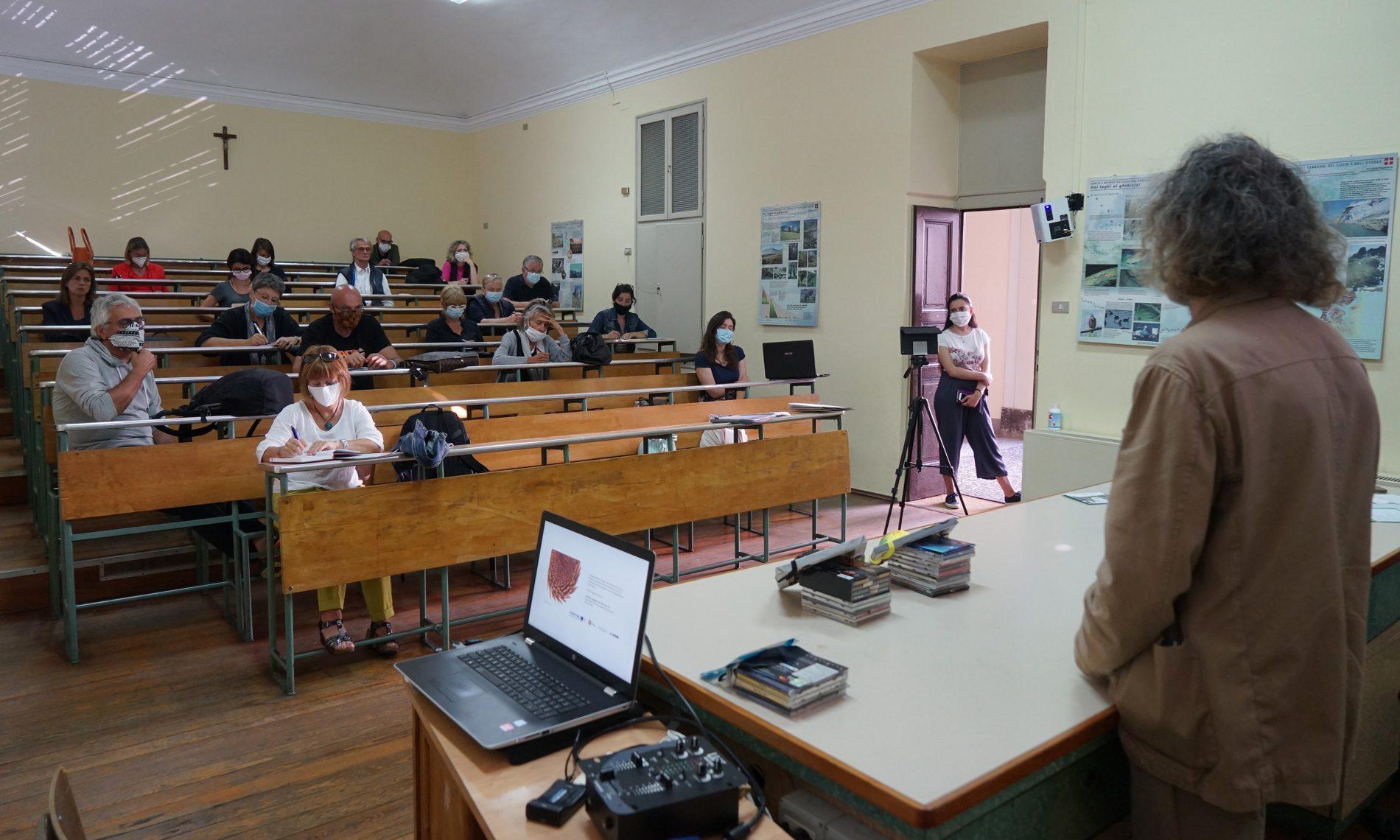 Conferenza stampa di presentazione del progetto a Domodossola - 19 giugno 2020