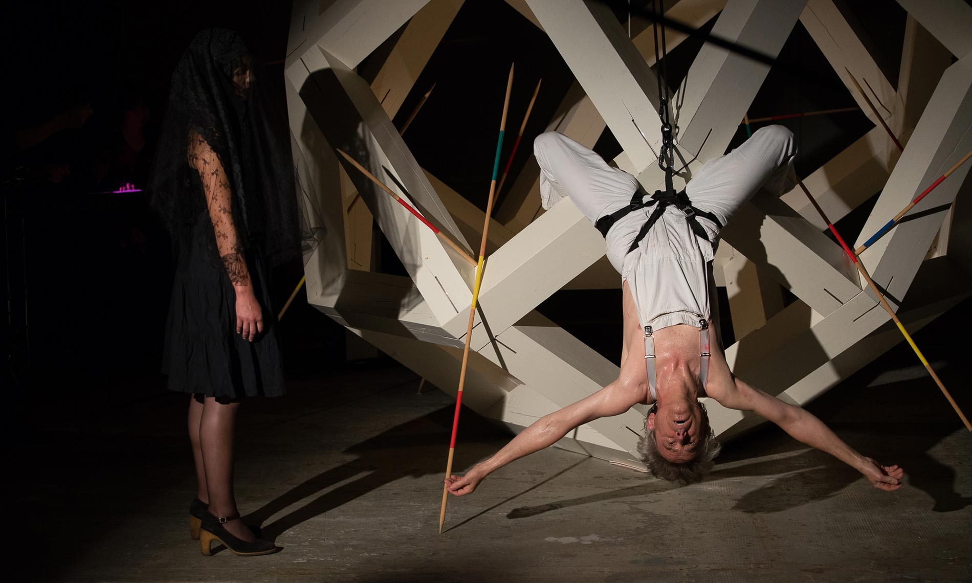 Performance presso lo studio Benoit