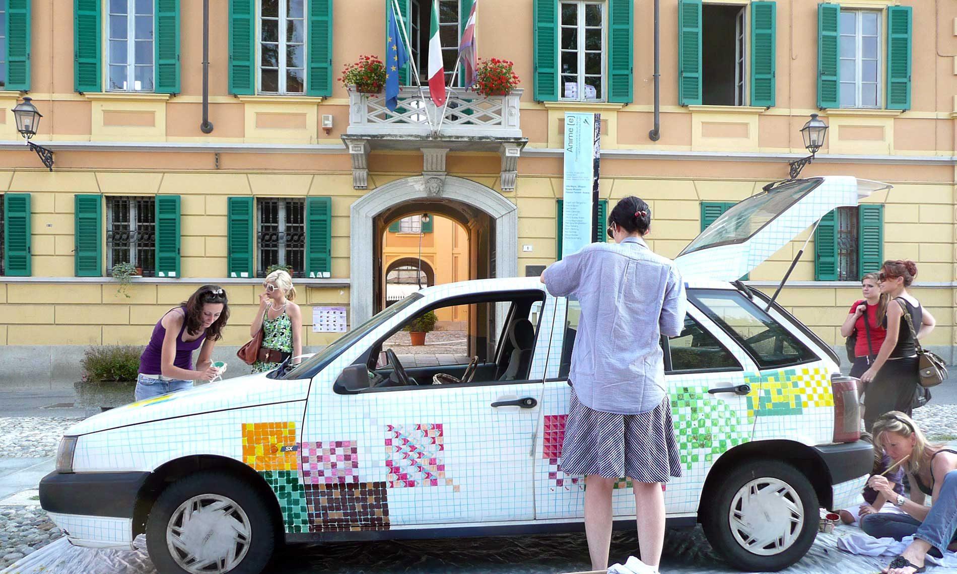 Francesco Brugnetta - Piazza Marconi, Ameno