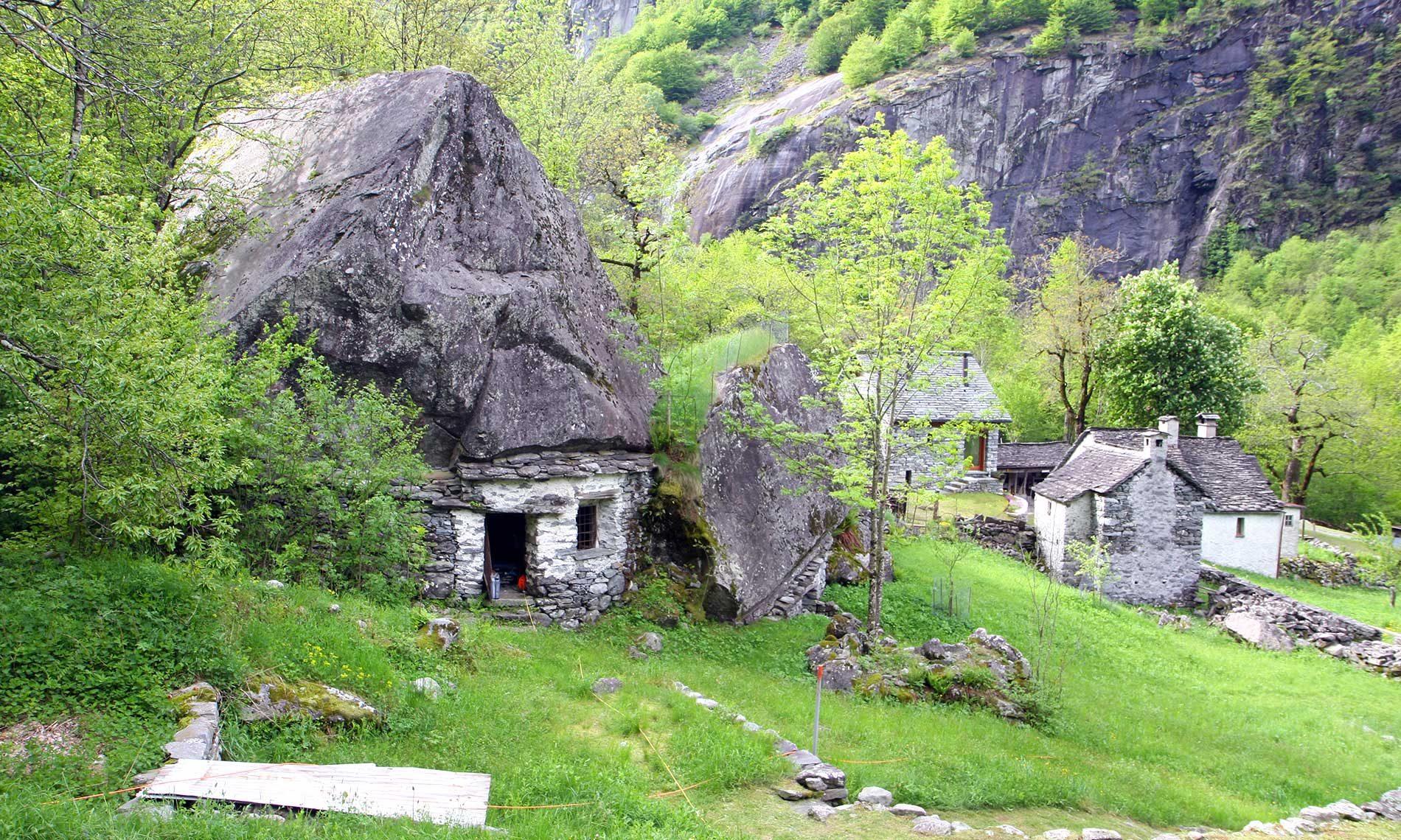 Campo Nomade Primaverile - Sabbione, Val Bavona (CH)