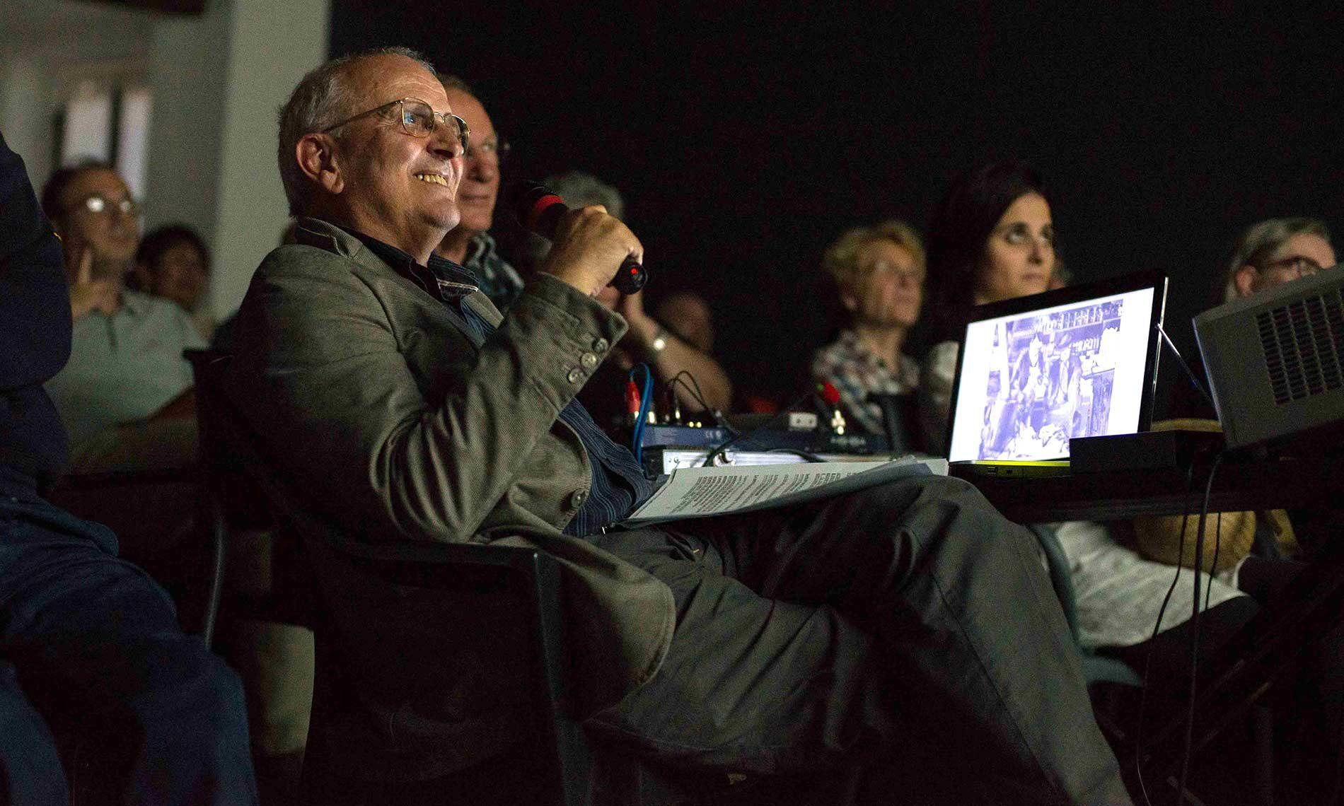 Il critico Bruno Fornara, sezione Sempreverde