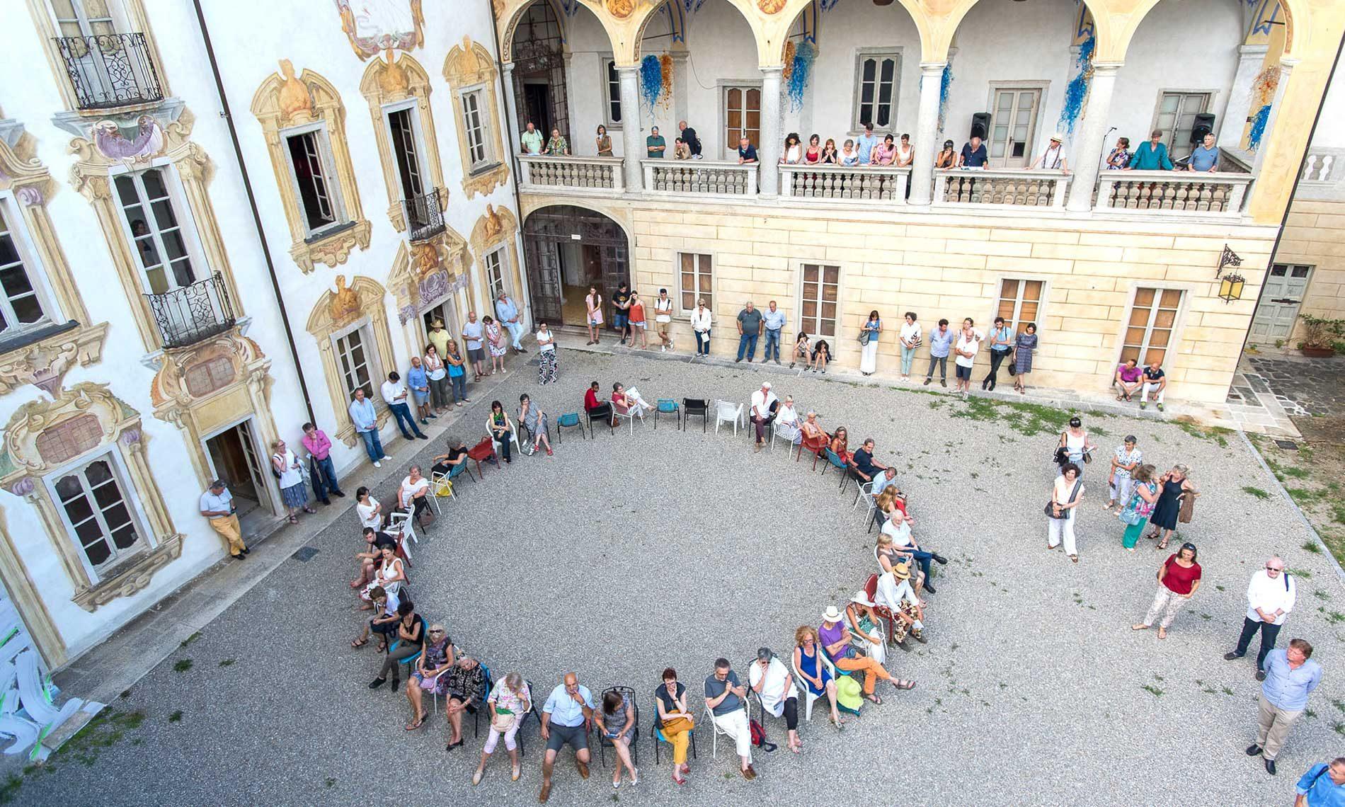 Inaugurazione mostra Continuum - Villa Nigra - Miasino