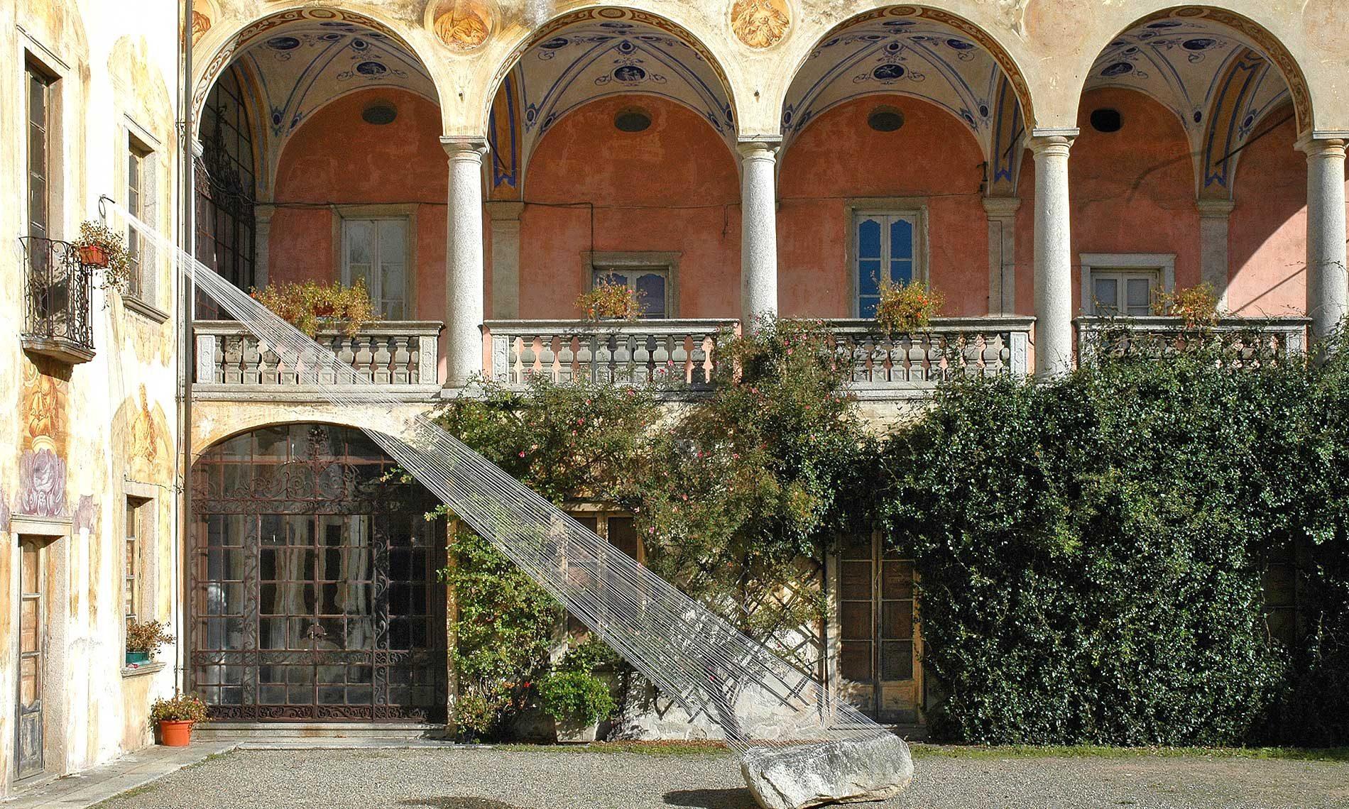 Installazione di Johannes-Pfeiffer - Villa Nigra - Miasino