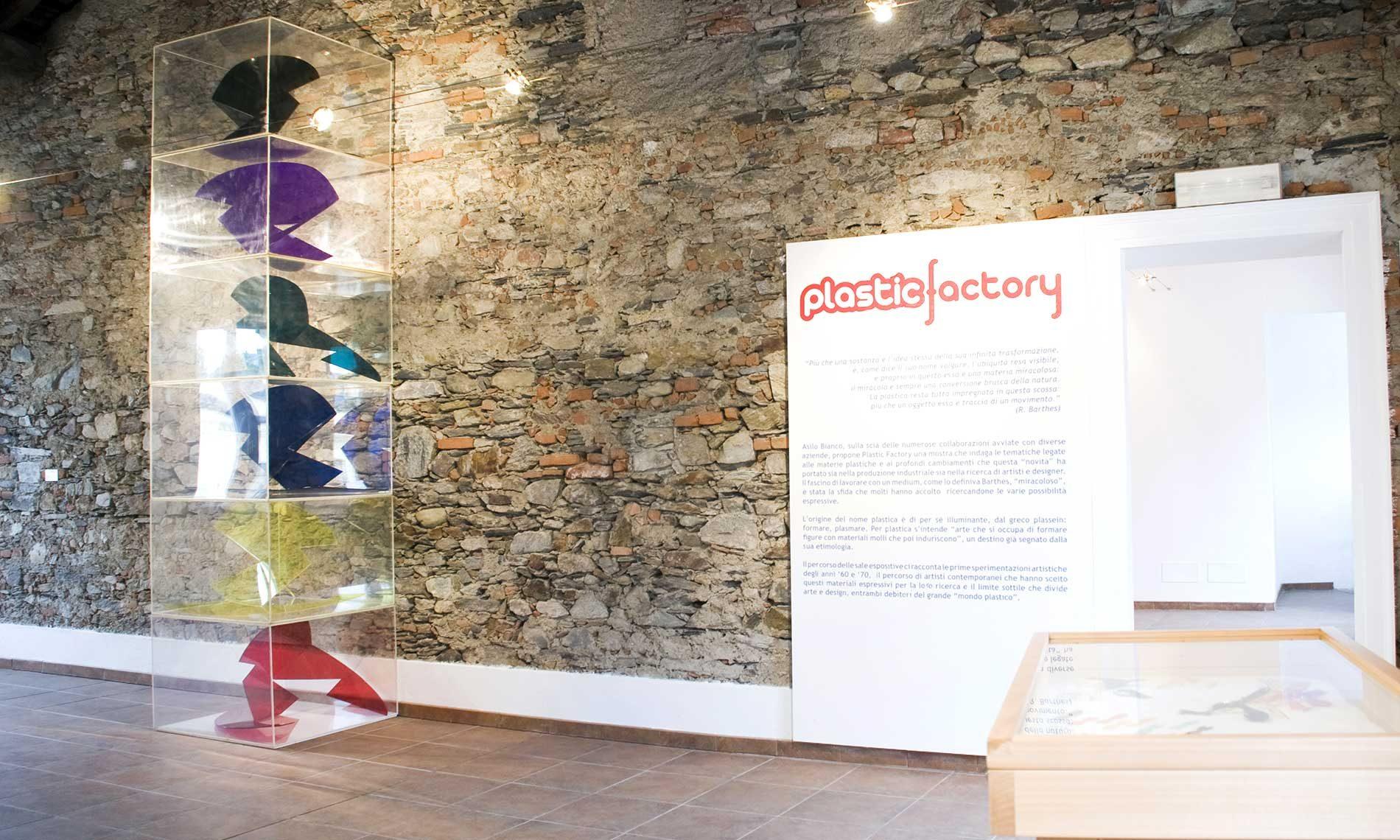Mostra Plastic Factory - Museo Tornielli - Ameno