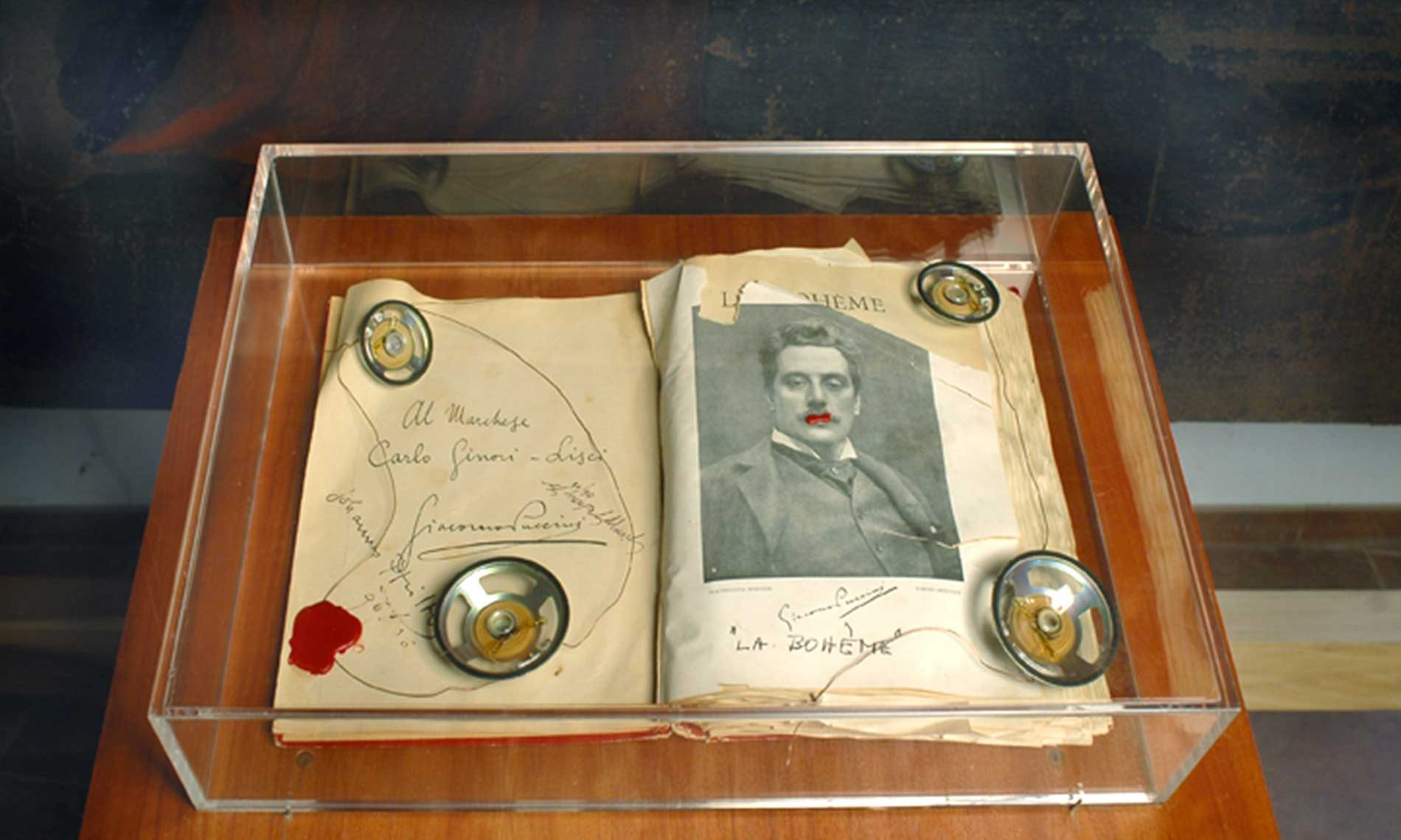 Opera di Johannes Pfeiffer e Giuseppe Gavazza - Museo Tornielli - Ameno 2006