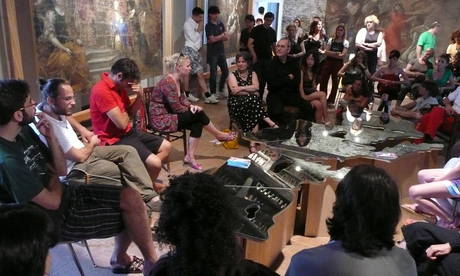 Il Tavolo del Mediterraneo di Michelangelo Pistoletto a Studi Aperti 2008