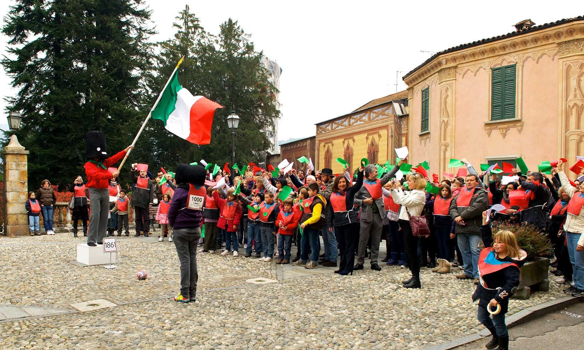 Performance dei Ludiko - Piazza Marconi - Ameno
