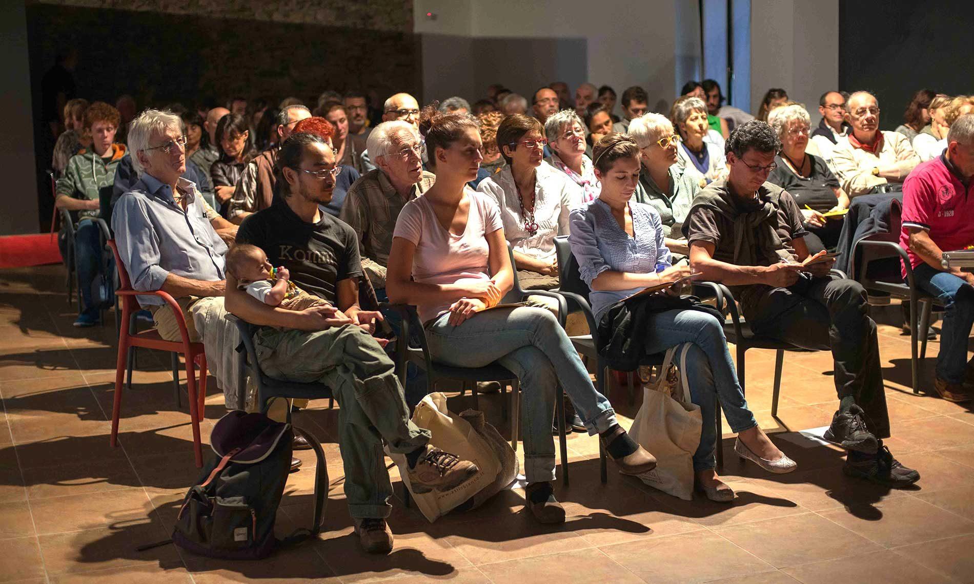 Pubblico al Museo Tornielli