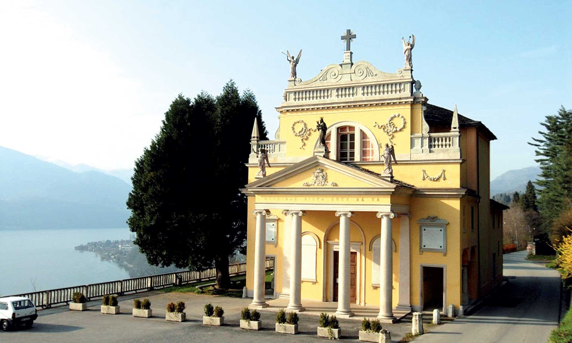 Santuario Madonna della Bocciola, Vacciago di Ameno
