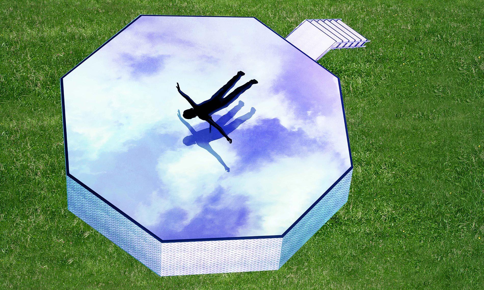 """Sarah Ciraci - Studio per l'opera """"Si potrebbe anche pensare di volare"""""""