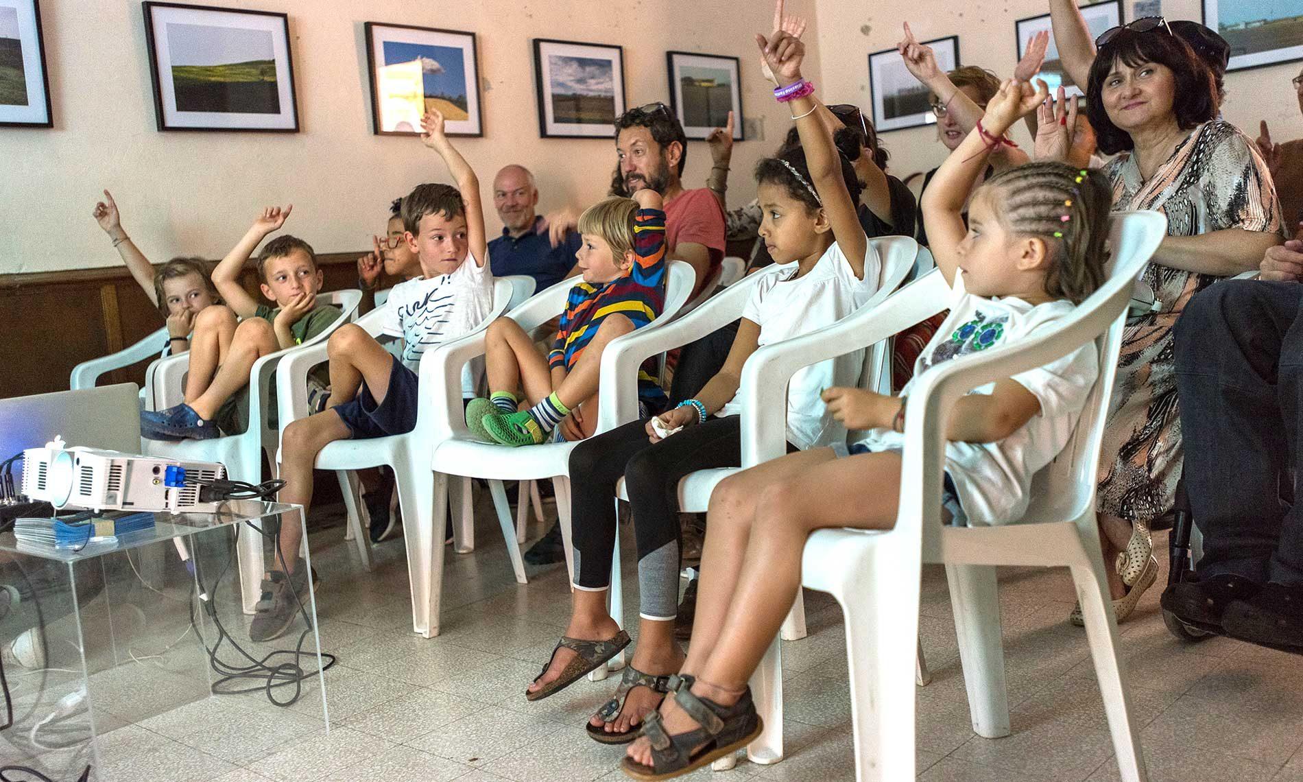 Sezione Germogli, proiezione per i bambini